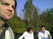 Borrel on boat 2009